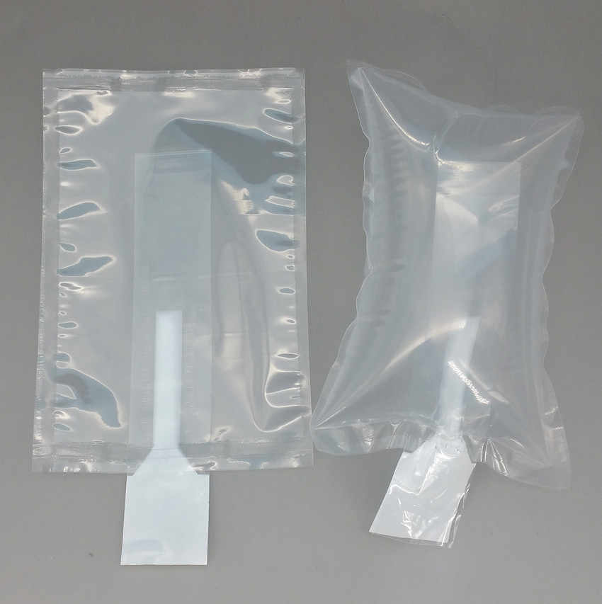 100pcs/lot Clear Plastic Shipping Protective Pump Inflatable Air Cushion Bag Buffer Packing Bags For Shockproof Transportation