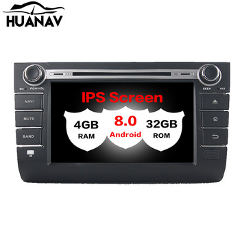 Android 8.0 Car DVD Player Multimedia Stereo For Suzuki swift 2013 2014 2015 2016 Auto radio player GPS Navigation unit recorder