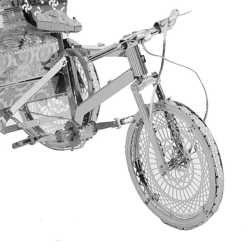 Rompecabezas modelo 3DMetal Multi-estilo DIY Laser Cut Rompecabezas - Juegos y rompecabezas - foto 6