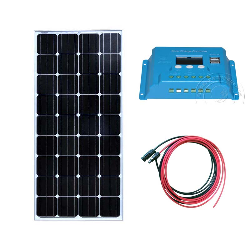 12v 150w Solar Panel Kit Solar Battery Charger PWM Solar Charge Controller 10A 12V 24V PV