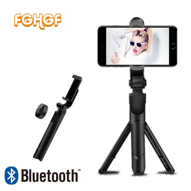 FGHGF Trépied 3 en 1 Selfie Bâton Pliable Manfrotto Téléphone Selfie Bâton Bluetooth Déclencheur À Distance Sans Fil De Poche Selfie Monopode