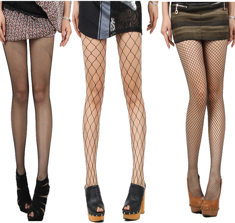 RioRiva Black Sexy Fishnet Pantyhose Fish Stockings Net-Soks Hosiery Erotic Lingerie For Women Men Sex Game Toy 2017 Fashion New