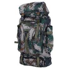2016 escalada al aire libre bolsa de camuflaje táctico mochila 60L bolsa de nylon repelente al agua