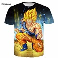 Men Women Cool Dragon Ball Z Super Saiyan 3D t shirt tees Anime Angry Goku Prints tshirts Harajuku Tee Shirts Cartoon t shirts