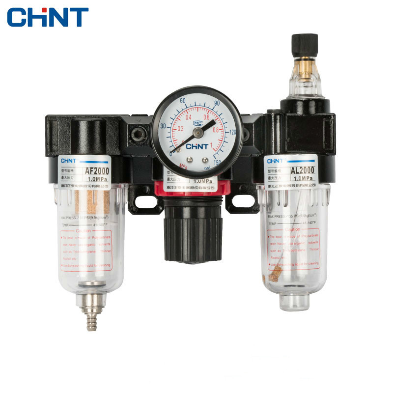 CHINT Pneumatic Relief Valve Air Source Treatment Tandem Oil - Water Separator Filter dn25 dn100 ss304 sanitary pneumatic butterfly valve with air open pneumatic end clamp