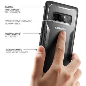 Image 3 - Dla Samsung Galaxy Note 8 przypadku SUPCASE UB serii Premium TPU zderzak + PC tylna obudowa ochronna etui na Galaxy uwaga 8
