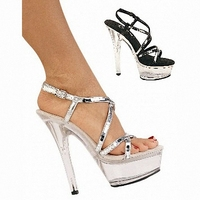 The New Stores Crystal Sandals Sell Lots Of Super High Heels 15 Cm Cm The Shopkeeper
