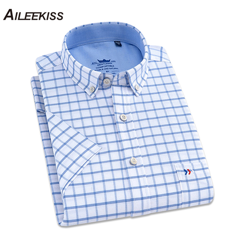 2019 Summer New Male Shirts Arrival Mens Fashions Streetwear Casual 100% Cotton High Quality Short Sleeved Ropa Hombre 4XL XT647