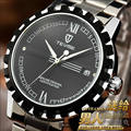 casual men wristwatch luxury tevise brand male clocks men's automatic watches steel mechanical calendar waterproof relogio