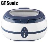 GT sonic VGT-800 0.6L профессиональный Ультра звуковой очиститель корзина для ювелирных изделий очки часы аппарат для ультразвуковой мойки и чистки...