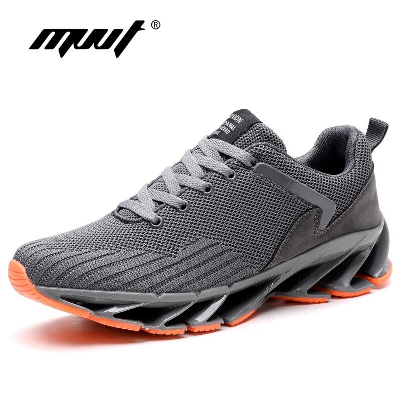 Super Cool Respirável Men Running Shoes Bounce Tênis Para Homens Verão Esporte Ao Ar Livre Sapatos Sapatos de Formação Profissional