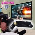5G/2.4G Dupla Wifi Exibição Dongle Receptor 1080 P Miracast HDMI Sem Fio DLNA IPUSH AirPlay Espelhamento Para IOS Android