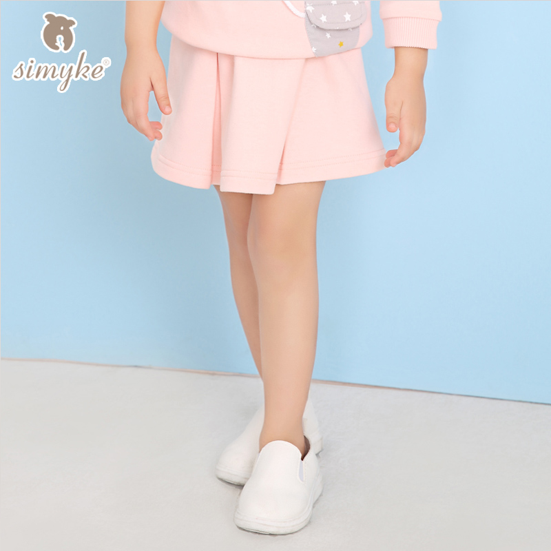 Sports Skirts For Girls 2017New Little Girl Casual Skirt Spring Pink Skirts For 1-2-3-4 Years Baby Girl Childrens Clothing D8118