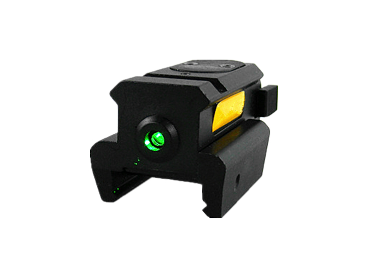hunterking wholesalers 10pcs/lot Send Fast Sporting Top 532nm Optics-precision Green Laser Dot Sight Fit 20mm Weaver Rail Mount