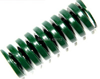 Free Shipping GREEN 25mm X 12 5mm X 300mm Mould Flat Wire Compression Spring 10pcs Lot