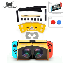 DIY Virtual Reality Goggle 3D VR Glasses For Nintend Labo Kit Box Switch games NS Accessories