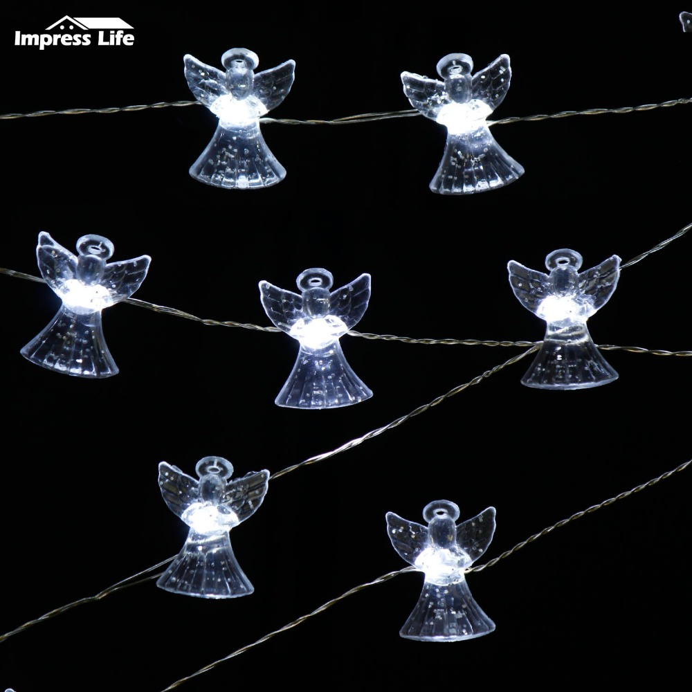 Aliexpress Com Buy Christmas Angel Led Fairy String