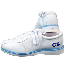 Chaussures de Bowling blanches pour hommes Sports unisexe débutants Bowling femmes chaussures Vogue baskets Zapatos Boliche articles de sport amuseurs(China)