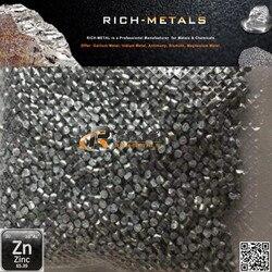 Гранулы из чистого цинка 99.995%, гранулы из цинковых металлов для университетских экспериментов