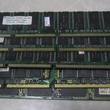 100% bien Original 168Pin dimm memoria SDRAM PC133 256MB de RAM de escritorio placa base industrial placa base SD 256M Ram