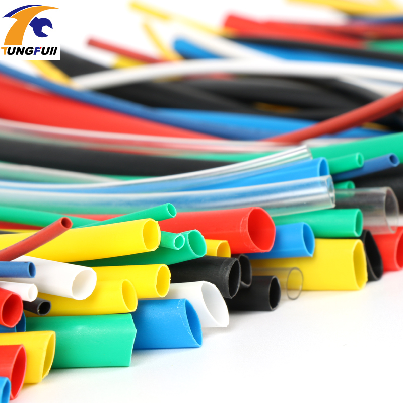 Heat Shrink Tube 140pcs 7color Assortment 2:1 Tubing Sleeving Wrap Wire Cable Kit Have Fast Shipping недорого