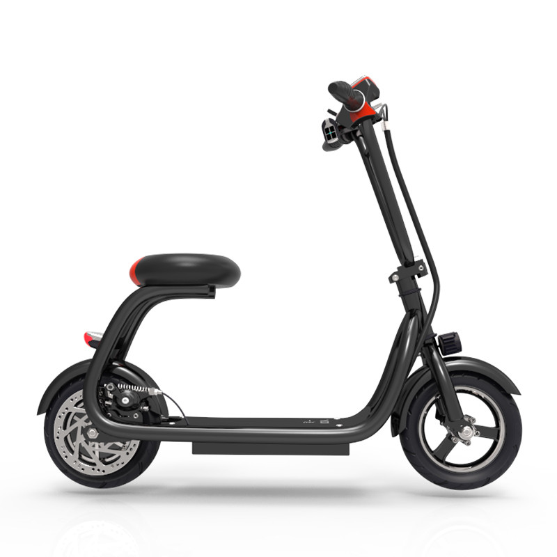 YIDI 10 Inch Li Ion Battery Electric Scooter Miniature Pedal Electric Bike