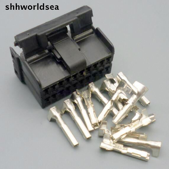 2 wire harness connector pcb 2 wire harness connector shhworldsea 5/30/100sets 1.5mm kit pcb mounting wire harness 20p 20way connector 174047 2-in ... #1