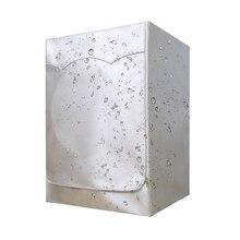 Профессиональный Чехол для стиральной машины с фронтальной загрузкой для стиральной машины и дома, Солнцезащитная сушилка для белья, водонепроницаемый пылезащитный чехол