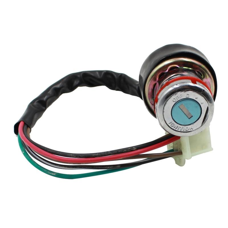New Arrive Ignition Key Switch 6 WIRE For Kazuma Falcon 50 70 90 110 CC 125c ATV Go Kart New Cae Styling