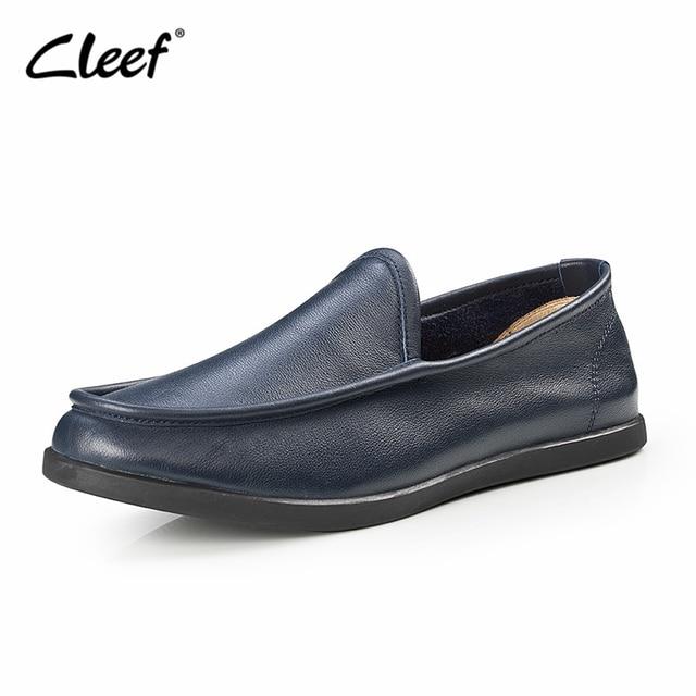 Men Shoes Fashion Casual Men Genuine Leather Shoes Comfortable Men Loafers