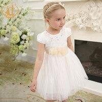 Nimble Princess Elegant Dresses For Girls Lace Orangaza Ball Gown Holiday Dresses For Girls Kids