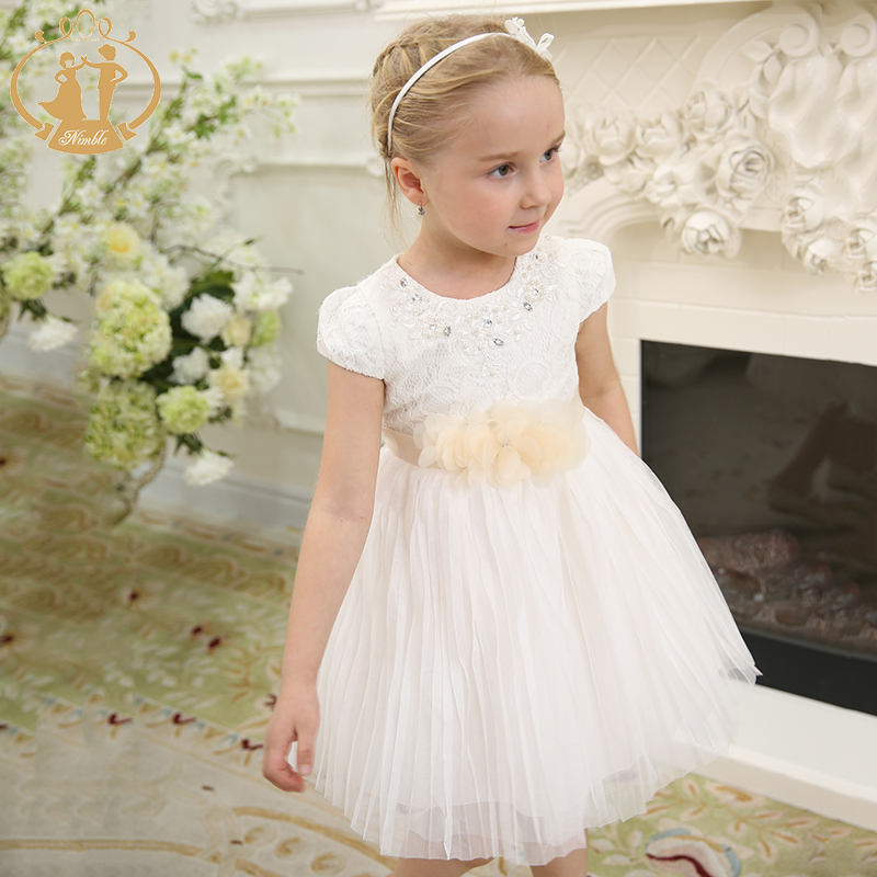 Wimpelige meisjes jurk roupas infantis menina kids jurken voor - Kinderkleding