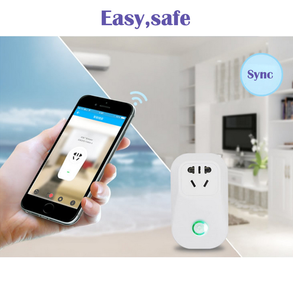 sonoff s20 smart home charging adapter wireless smart switch wifi home automation power socket. Black Bedroom Furniture Sets. Home Design Ideas