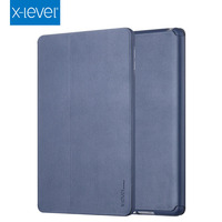 X Level Book Leather Flip Cases For Apple iPad Air Premium Ultra Thin Business Sleeping Wakup Leather Cover Case