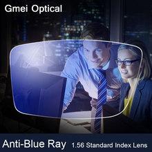 Анти-Синий Луч Объектив Близорукость Пресбиопии Рецепту Оптические Для Защиты Глаз Чтение