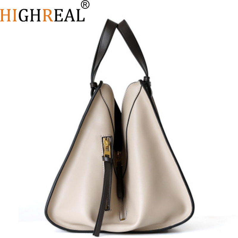 Bag Female Women's 100% Genuine Leather Bags Handbags Crossbody Bags for Women Shoulder Bags Genuine Leather bolsa feminina Tote bag female women s genuine leather bags handbags crossbody bags for women shoulder genuine leather bolsa feminina tote