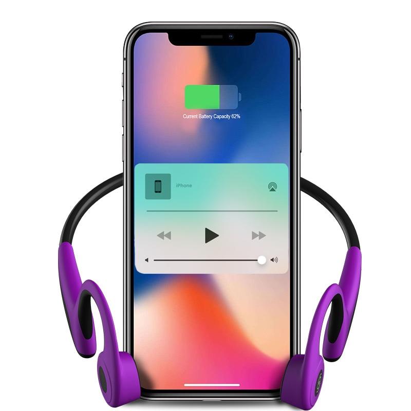 Best Noise Cancelling Headsets Bone Conduction Bluetooth Wireless Headphones Sport Waterproof Earphone for iphone Swim pk sony