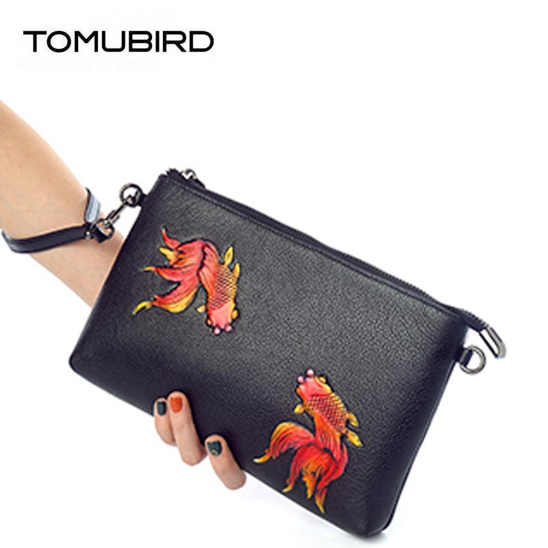 TOMUBIRD 2018 new superior Cowhide Fashion Embossing luxury handbags women bags designer women bag genuine leather handbags 2018 new superior cowhide leather classic designer hand embossing top leather tote women handbags genuine leather bag medium bag