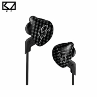 Original KZ ZST Balanced Armature Dynamic Hybrid In Ear Earphone HIFI DJ Monito Running Sport