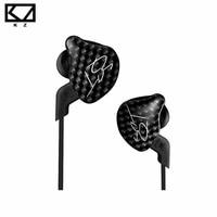 Original KZ ZST Balanced Armature Dynamic Hybrid In Ear Earphone HIFI DJ Monito Running Sport