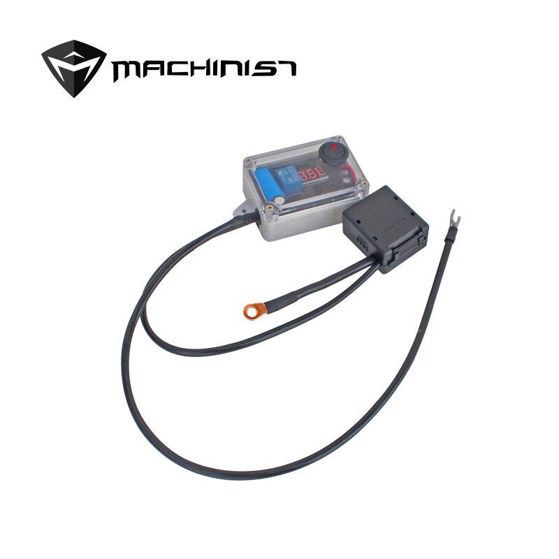 12V 120A voiture Double batterie isolateur protecteur Auto Double batterie contrôleur intelligent batterie gestionnaire Max à 300A - 3