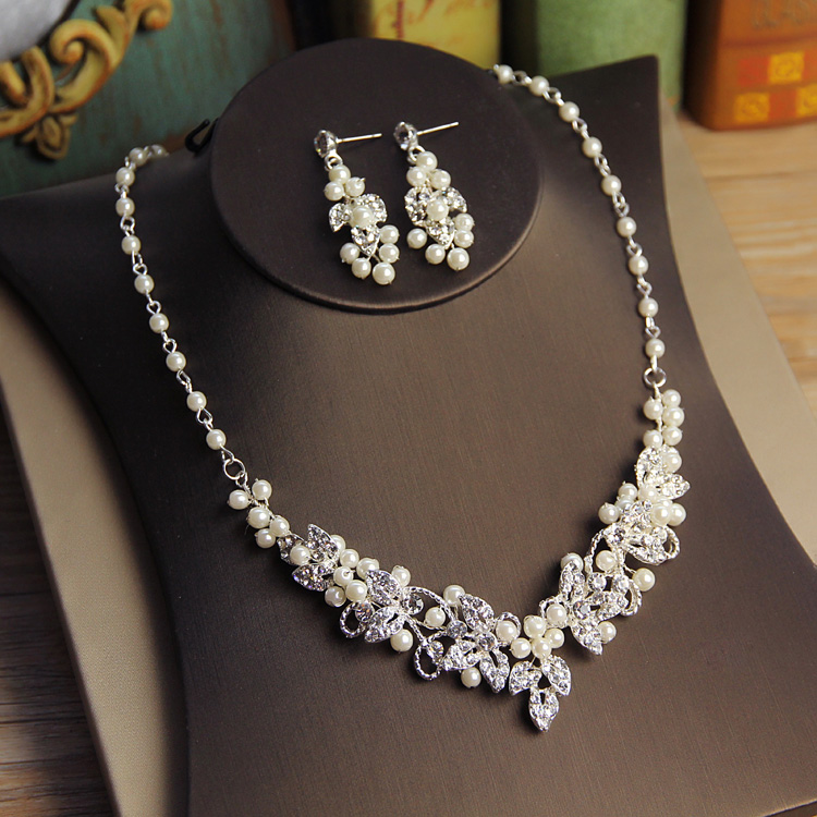 Brautschmuck set silber  Online Kaufen Großhandel strass schmuck set aus China strass ...