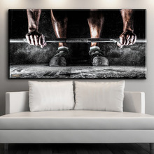 ФОТО ZZ2140 HD print canvas art Print Body Building Sport Boys painting home decor canvas painting living room decor picture unframed