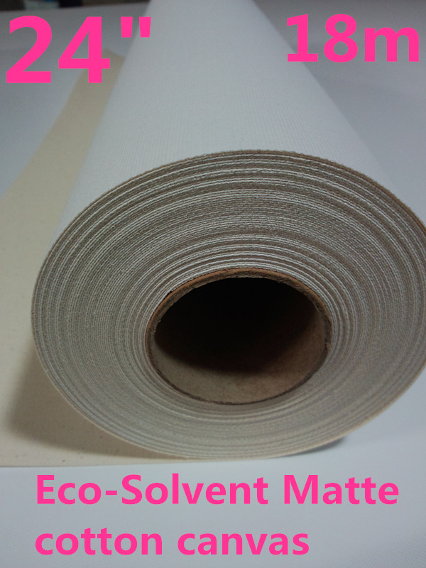 Learned 380g Eco Solvent Cotton Inkjet Canvas With Matte Surface 24in