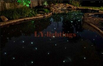 Diy Kit De Luz De Fibra óptica Led Cor De Luz De Fibra óptica Rgb Mudança Estrela Para A Loja Loja De Spa Bar Quarto Decoração Da Parede Do Jardim