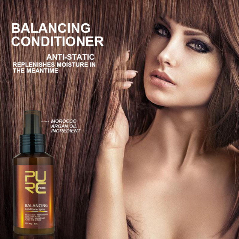 100 ML Balancing Conditioner Spray Anti-static and Replenishes Moisture In The Meantime Hair Care & Styling and Scalp Treatments