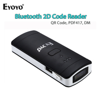 EYOYO EY 002S Good Performance Mini Pocket Wireless Scanner 1D 2D Bar Code Reader Bluetooth QR Code Reader 2D Scanner