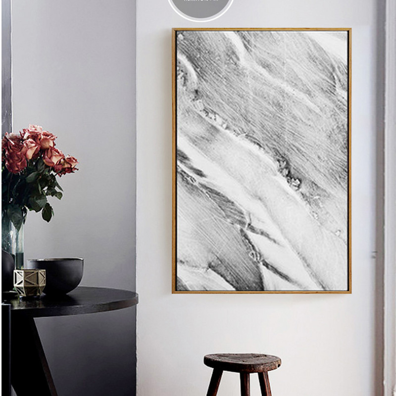 Abstract Grey Marble Veins Canvas Paintings Nordic Posters And Prints Pop Wall Art Pictures For Living Room Home Decor -in Painting u0026 Calligraphy from Home ... & Abstract Grey Marble Veins Canvas Paintings Nordic Posters And ...