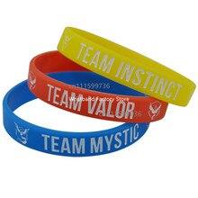Team Valor/Mystic/Instinct Silicone Color Wristband