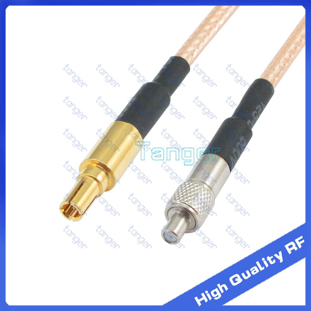 TS9 female Jack to CRC9 male plug straight connector with 20cm 8 RF RG316 RG-316 RF Coaxial Pigtail High Quality Low Loss cable 5 x rf antenna fm tv coaxial cable tv pal female to female adapter connector